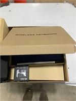 Box lot wireless keyboard,Bluetooth headset,