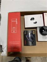 Box lot mixer cup, wireless headphone, and others