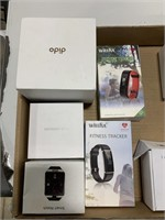 Box lot fitness tracker, wireless earbud and