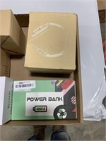 Box lot power bank,oral irrigator and others