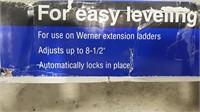 Werner Auto Ladder Leveler