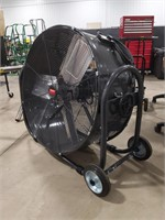 "Dayton 30"" industrial floor fan model #1YNW4a,"
