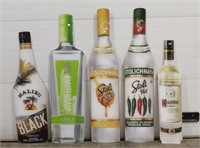 Large Plastic liquor advertising sign. Includes