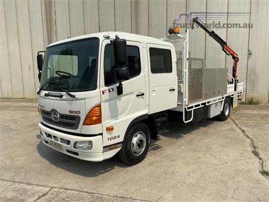 2010 Hino FD 1024 - Trucks for Sale