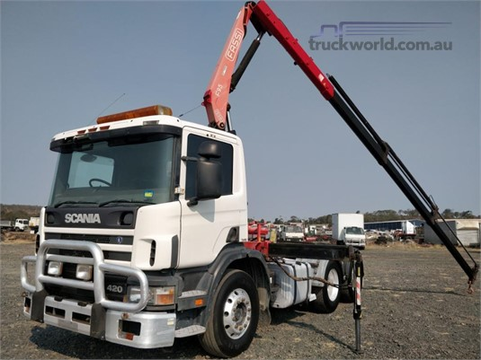 2000 Scania P420 Wheellink - Trucks for Sale