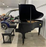 Apollo grand piano with bench
