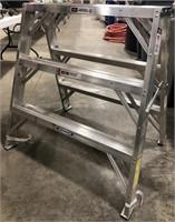 Werner  Aluminum Trestle ladder