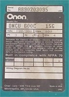 ONAN 600Amp Transfer Switch