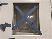 NEW Full-Framed One Lite Commercial Aluminum Door