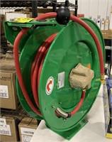 Speedaire 50ft airhose on retractable reel