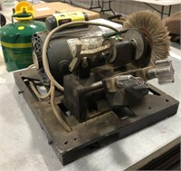 1/4 hp General Electric motor with key cutting