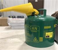 5 gallon Metal diesel can