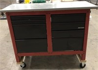 Craftsman work bench with tool drawers