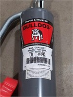 Bulldog trailer jack max capacity 7000 lbs