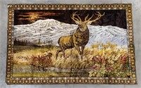 "Outdoors Themed Tapestry 83.75"" by 48.25"""