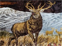 """Outdoors Themed Tapestry 83.75"""" by 48.25"""""""