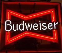 """""""Budweiser"""" light up neon"""