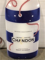 Large Chanon champagne bottle and Kettle One