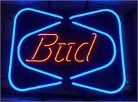 """Bud"" light up neon sign"