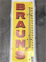 Braun's Town Talk Thermometer