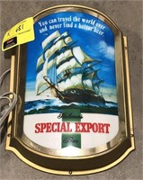 Heileman's Special Export Light Up Sign
