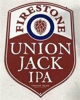 Firestone Union Jack IPA Metal Sign