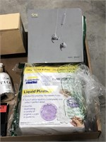 Miscellaneous box lot  containing night light,