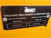 2012 OMC Sprint Side Mount Orchard Shaker