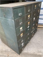 File/Parts Storage 28 Drawer Double-Sided