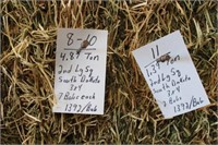 Hay, Bedding & Firewood Auction #50 (12/11/2019)