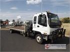 2004 Isuzu FRR525 Crane Truck