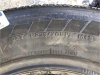 """15"""" Mastercraft  Avenger GT Tire"""