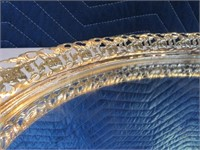 Mirrored Dresser Top + Wood~Metal Jewelry StashBox