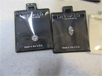 Lot (13) Lindenwold's Jewelry Making Precs Stones