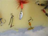 Lot (14) Fishing Spinners & Lures
