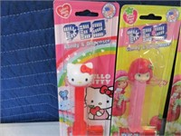 Lot (6) New PEZ Candy Collectible Dispensers