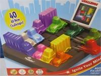 New RushHour TrafficJam Logic Board Game
