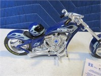 """DallasCowboys 7"""" Collectible Motorcycle NEW 2013"""