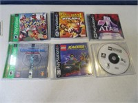 Lot (6) PLAYSTATION vintage Video Games