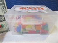 New ThinkingKids MATH Pattern Block Toy Set 2/2