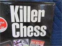 KILLER CHESS New 3book Set $20
