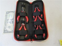 5pc HYPERTOUCH Hobby Plier Tool Set w/ Case