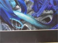 Signed Purple Dragon 16x20 #'d Estate Art