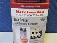 New KitchenAid Red Box Cheese Grater