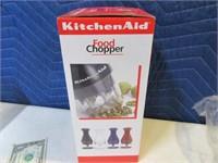 New KitchenAid Red Hand Food Chopper