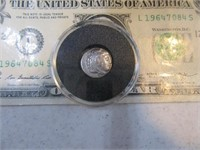 """Coin """"Alexander The Great Silver Drachm"""" In Box EX"""