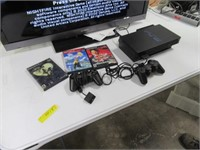 Playstation 2 Gaming Console + 4 Games & Extras