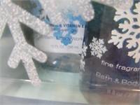 New Bath&BodyWorks SNOW 3pack Spray Lotion SET