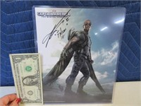 SIgned Captain America Mackie 8x10 Picture