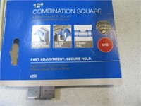 """New EMPIRE 12"""" Combo Square Hand Tool"""